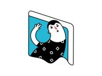 Brand Heroes for Social Networking App clean app branding web animation design minimal illustration