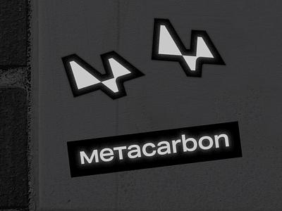 Metacarbon Branding ux ui typography logo branding design clean minimal