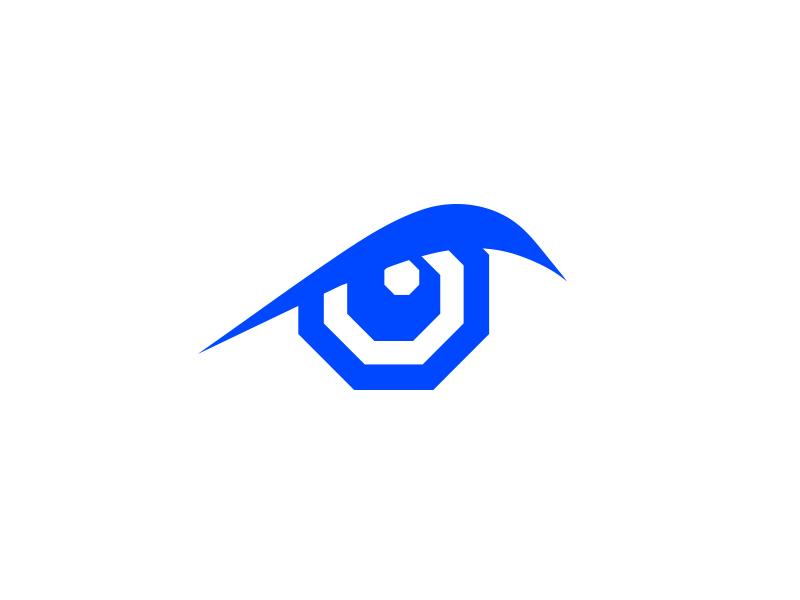 Luta Critativa mma logo octagon eye