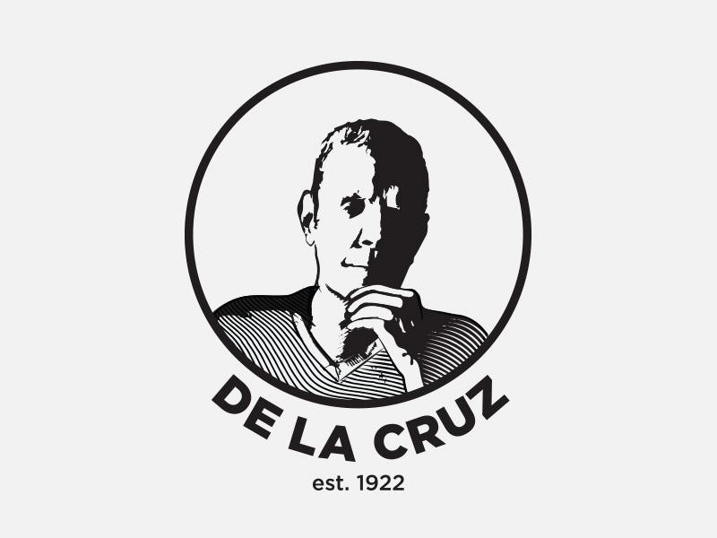 De La Cruz – Logo round legacy lines portrait logo