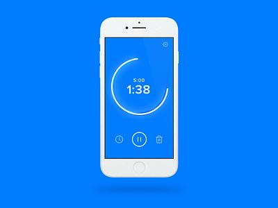 Daily UI - #014 app timer countdown 014 dailyui daily