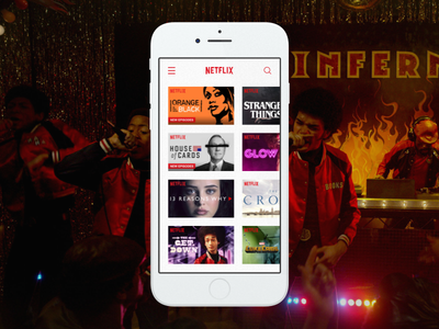 Daily UI - #025 app tv netflix 025 dailyui daily