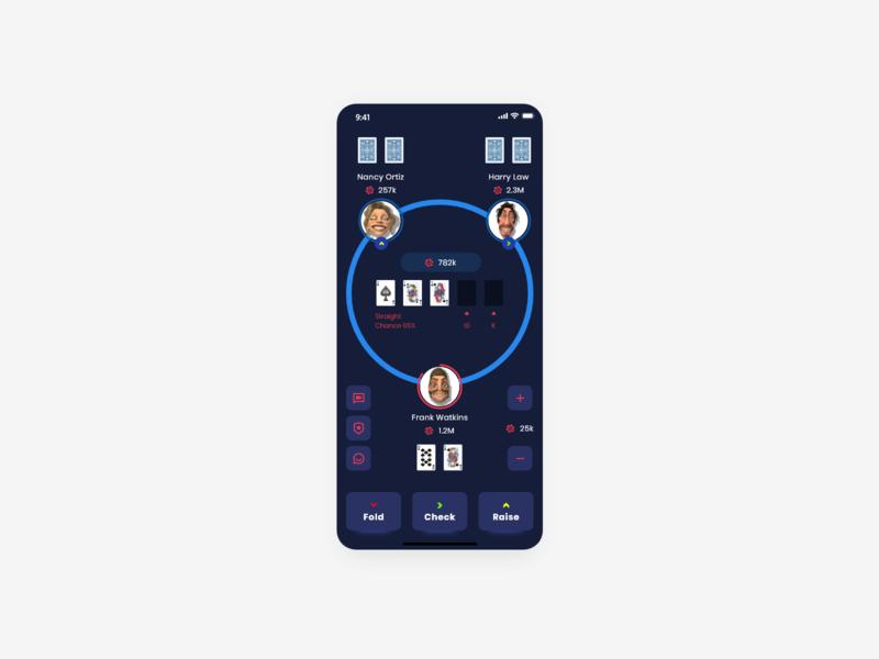 Poker app cards pokergame game design games poker cards poker online poker chip poker card game poker minimal illustration projects design clients adobexd ux ui br madewithadobexd
