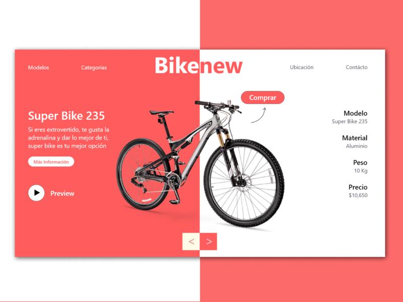 Bikenew ui ux web ecommerce design ecommerce uidesign design ui