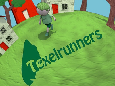 Texelrunners texel roparun animation