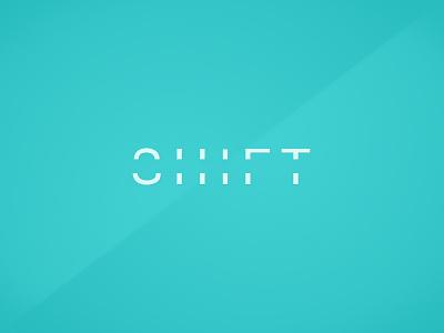 Shift logo design wip