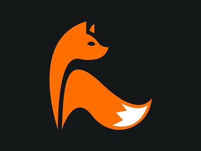Fox icon logo fox