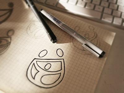 Family Dynamics sketch id logo