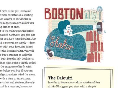 Digest: The Home Bartender (detail)