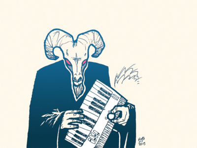 The Goat Lord of Devil Music