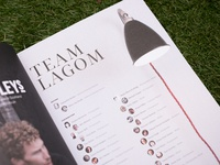 Lagom #2, pages 6 & 7