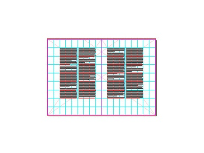 The grid for a forthcoming new publication digest