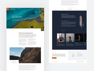 Editorial concept benton sans website gt sectra