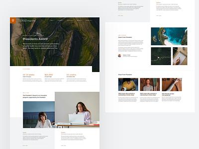 UT Concept branding marketing web design