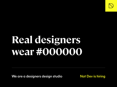 Real designers wear #000000 design type mier a