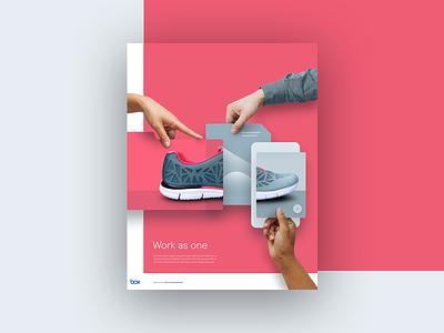 Box Ad advertisement illustration