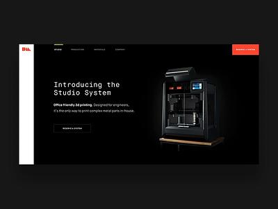 DM Website Concept packaging design maison neue website