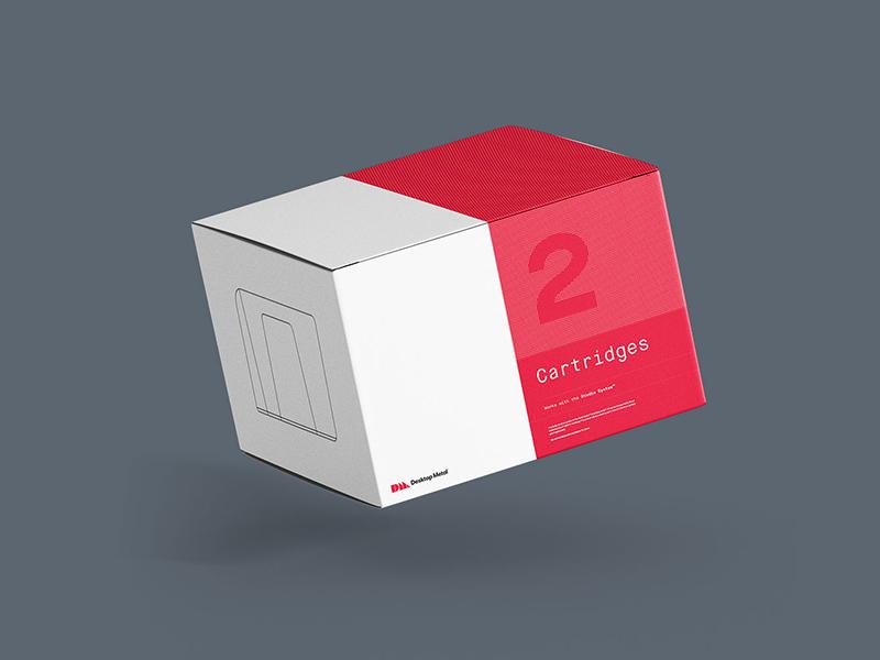Packaging Cartridge Box illustration maison neue packaging