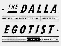 The Dallas Egotist