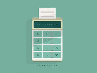 SquareSpace Commerce illustration texture squarespace commerce