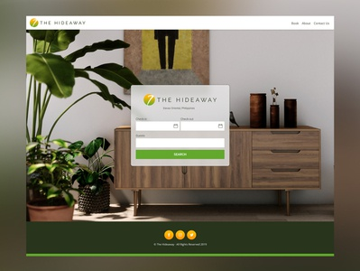 Web Design Feature: The Hideaway