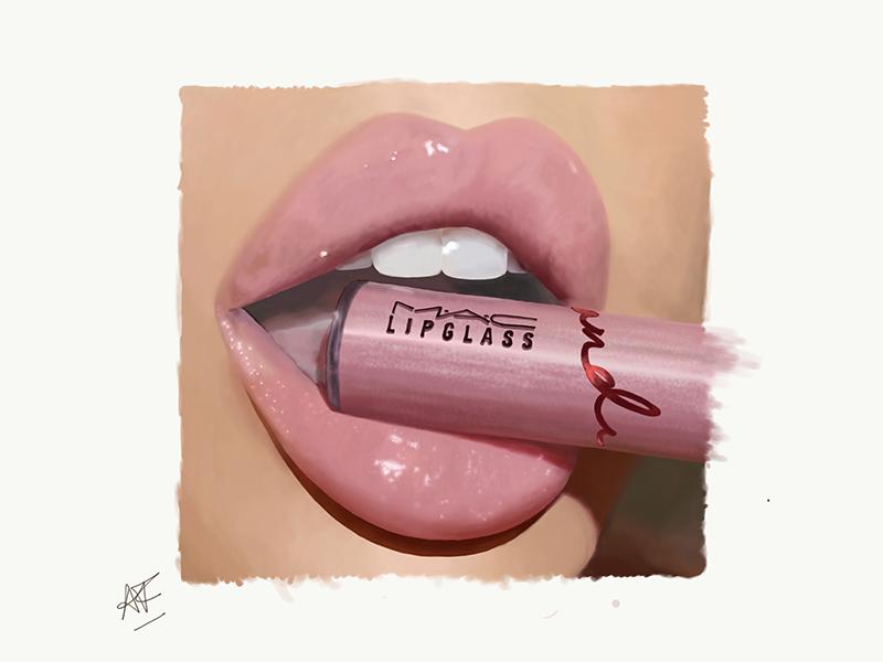 Illustration Lips art digital-illustration illustration