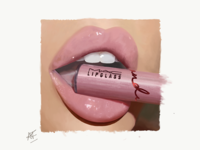 Illustration Lips