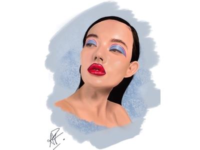 Realistic Illo art realism digital illustration drawing