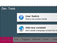 Developer toolbar v2