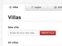Villas CMS