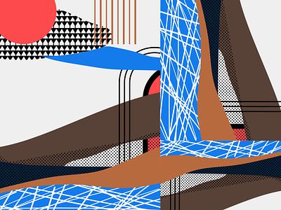 pattern drawing americanlines lines colorful colour digital pattern prague vector geometric color shape design graphic illustration
