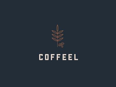 Coffeel Logo illustration vector graphic colours concept logo coffee
