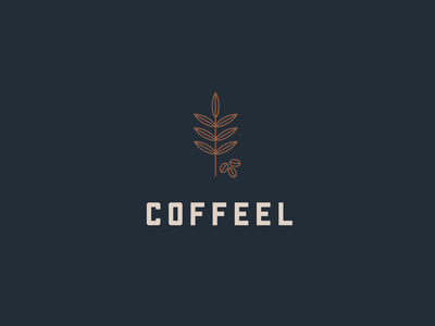 Coffeel Logo illustration vector graphic colours concept logo coffee