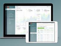 Dashboard & Management Concept