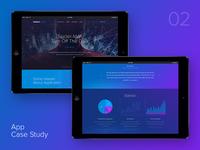 Mobile Roadie Case Study Page case study case mobile app adaptive responsive interface ui ux web design web
