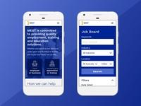 Apprenticeship Website - Mobile