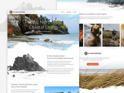 El Mar Estates Website responsively designed website web design uxdesign galactic ideas uidesign webdesign wordpress