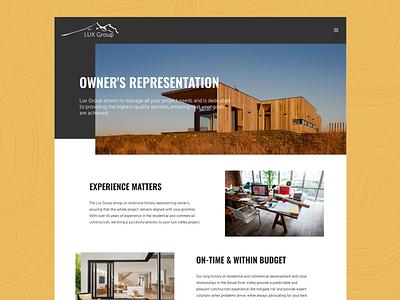 LUX Group Sun Valley - Owner's Representation galactic ideas skiing ski town wordpress web design logo property management mountain life sun valley