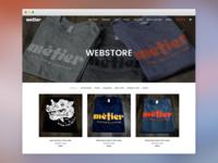 Métier Seattle Webstore
