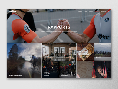 Métier Seattle Rapports uncode ui design web design wordpress cycling