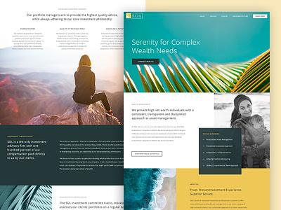 Capital Management galactic ideas ui logo uidesign uxdesign web webdesign wordpress
