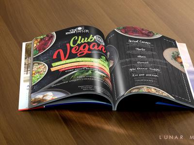 Vegan Food Menu