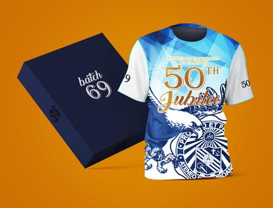 50th Jubilee Shirt Design