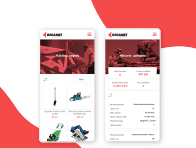 Regamet Mobile Application