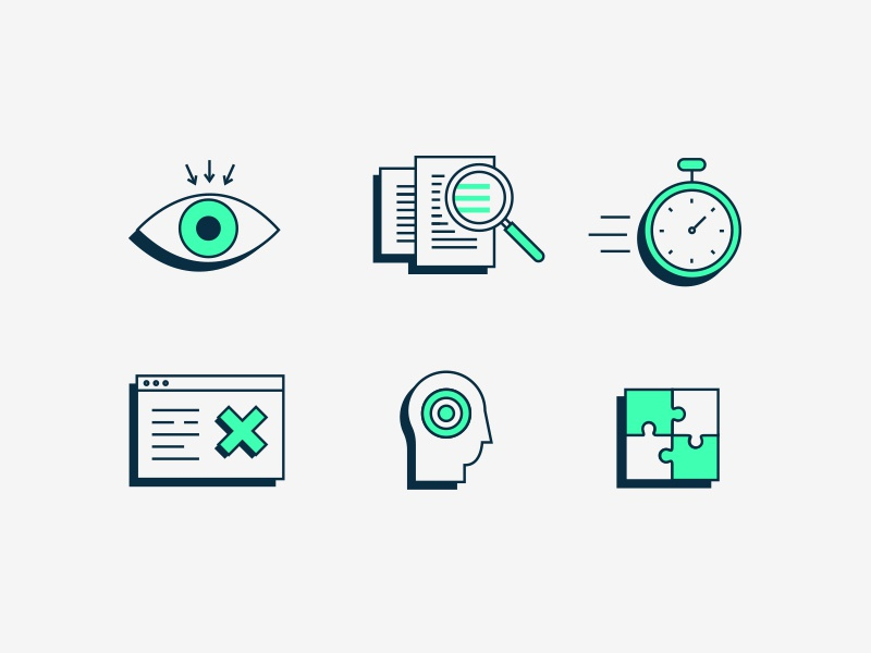 Accessibility Icons by ✨ Lilla Bardenova ✨