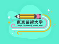 Tokyo University Of Arts Sticker
