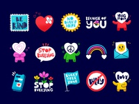 Anti Bullying Sticker Pack for Snapchat