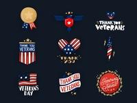 Veterans Day Snapchat Stickers