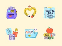Back to School Sticker Pack