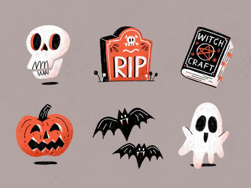 Halloween Spook Sticker Pack